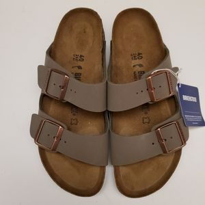Birkenstock Arizona Stone Gray Sandals 40